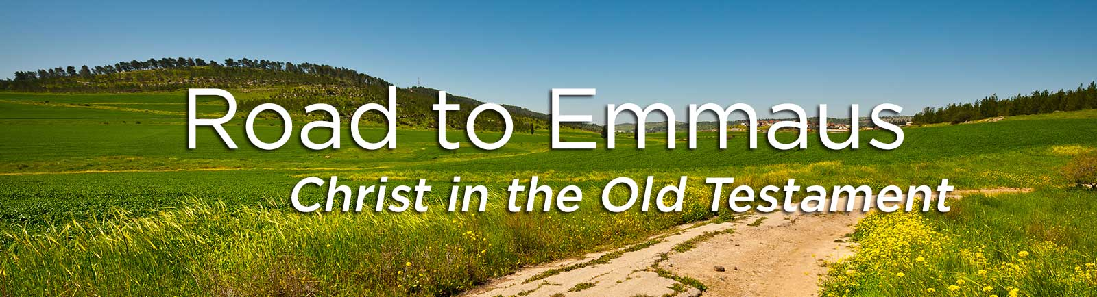 The Road to Emmaus: Christ in the Old Testament